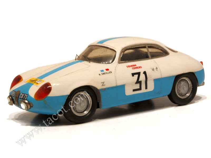 alfa romeo giulietta sz rally lyon charbonnieres provence moulage 1 43 autos miniatures. Black Bedroom Furniture Sets. Home Design Ideas