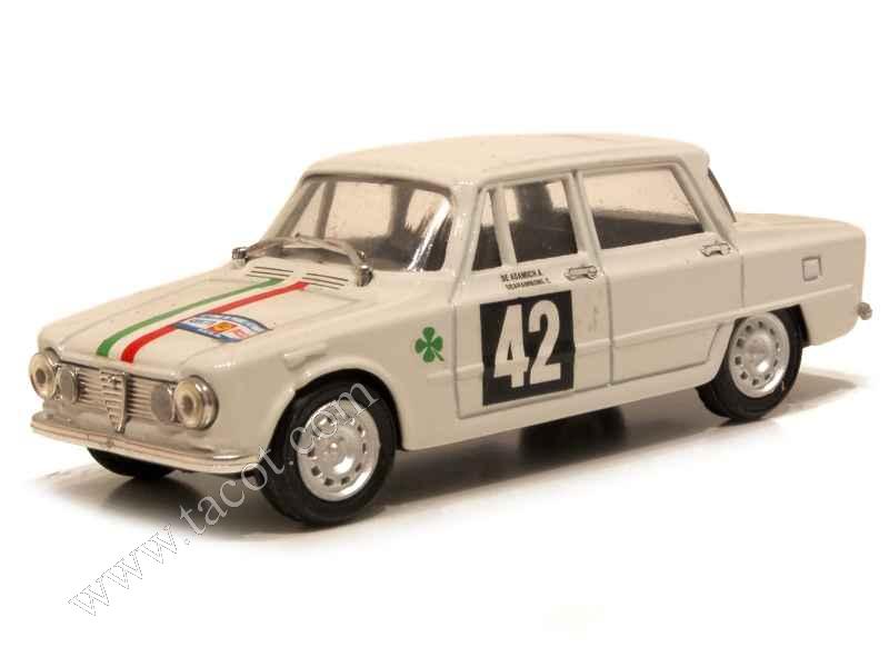 alfa romeo giulia ti tour de france 1964 progetto k 1 43 autos miniatures tacot. Black Bedroom Furniture Sets. Home Design Ideas