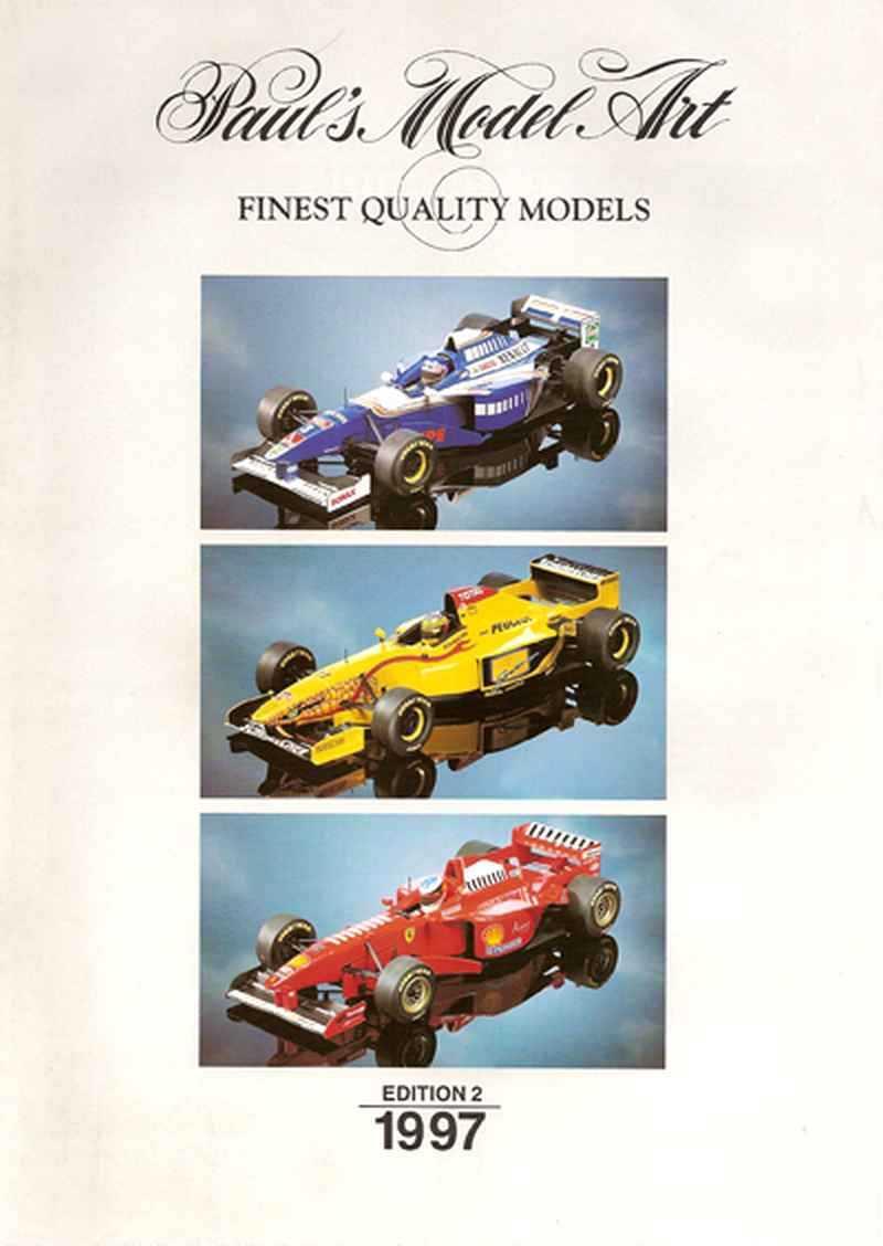 212 Catalogue Minichamps 1997