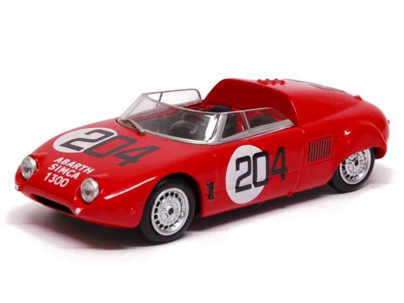 22063 Abarth Simca 1300 Sport Spider Mille Miglia 1962
