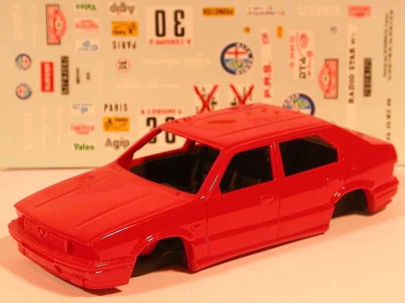 23454 Alfa Romeo 33 GrN Monte Carlo 1986