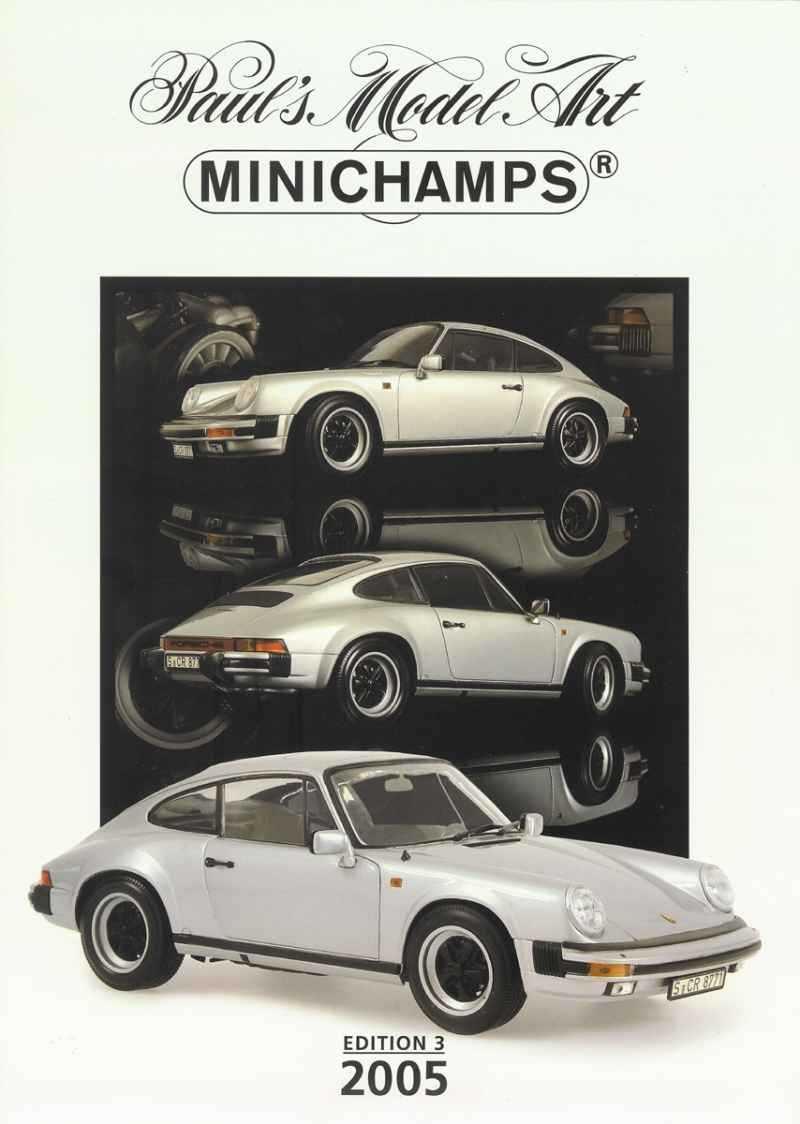 237 Catalogue Minichamps 2005