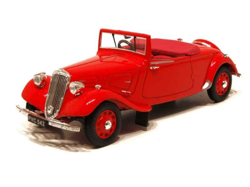 24084 Citroën Traction Light Fifteen Roadster 1938