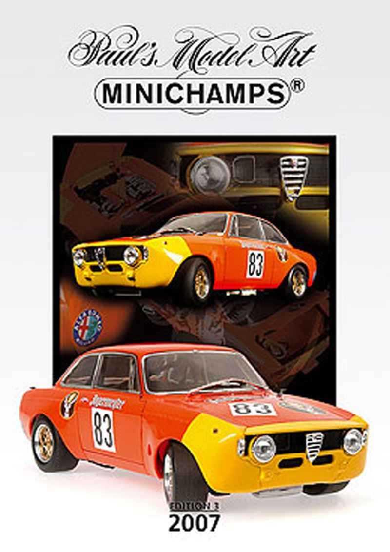 243 Catalogue Minichamps 2007