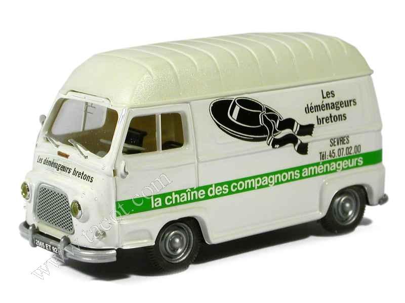 renault estafette sur lev e 1968 norev 1 43 autos miniatures tacot. Black Bedroom Furniture Sets. Home Design Ideas