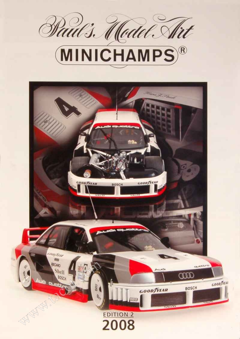 246 Divers Catalogue Minichamps 2008