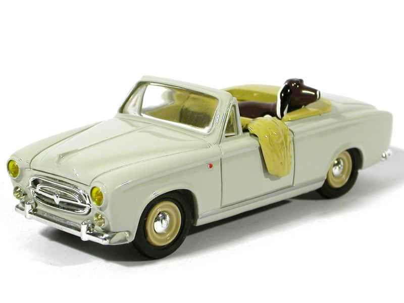 peugeot 403 cabriolet columbo leader 1 43 voiture miniature diecast autos minis. Black Bedroom Furniture Sets. Home Design Ideas