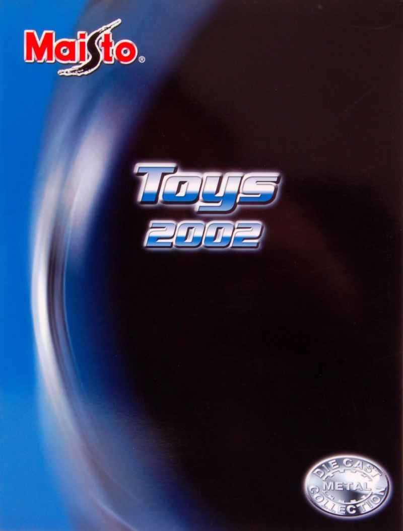 322 Catalogue Maisto 2002