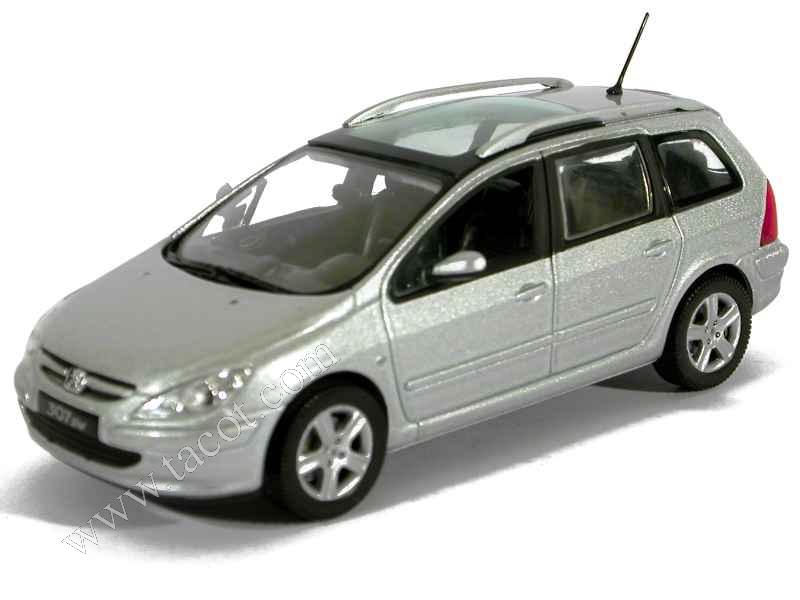 peugeot 307 sw 2002 norev 1 43 autos miniatures tacot. Black Bedroom Furniture Sets. Home Design Ideas