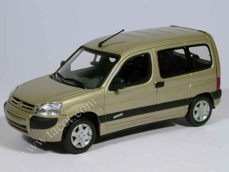citro n berlingo bivouac 2002 norev 1 43 autos miniatures tacot. Black Bedroom Furniture Sets. Home Design Ideas