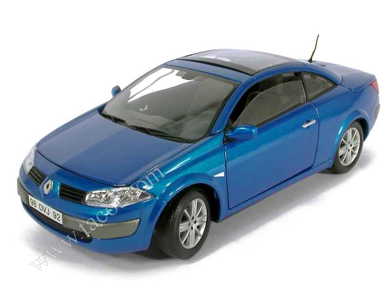 renault megane ii cc 2004 solido 1 18 autos miniatures tacot. Black Bedroom Furniture Sets. Home Design Ideas
