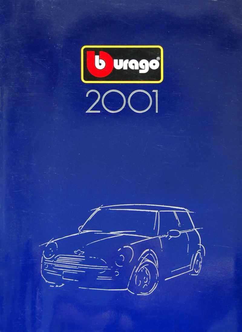 429 Catalogue Burago 2001