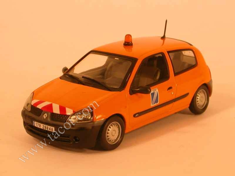 renault clio ii dde universal hobbies 1 43 autos miniatures tacot. Black Bedroom Furniture Sets. Home Design Ideas