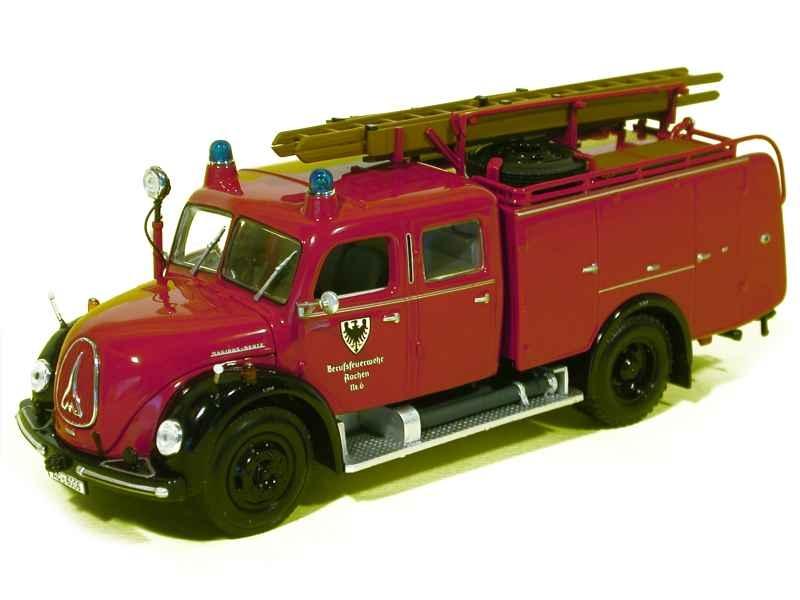 46895 Magirus TLF 16 Merkur Pompiers 1959