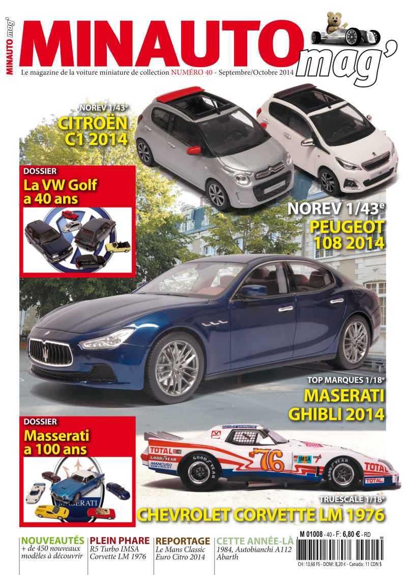 47 MINAUTO mag' No40 Septembre / Octobre 2014