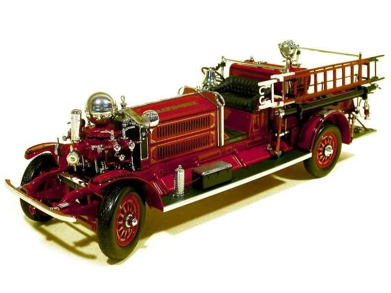 48998 Ahrens Fox NS4 Fire Engine 1925