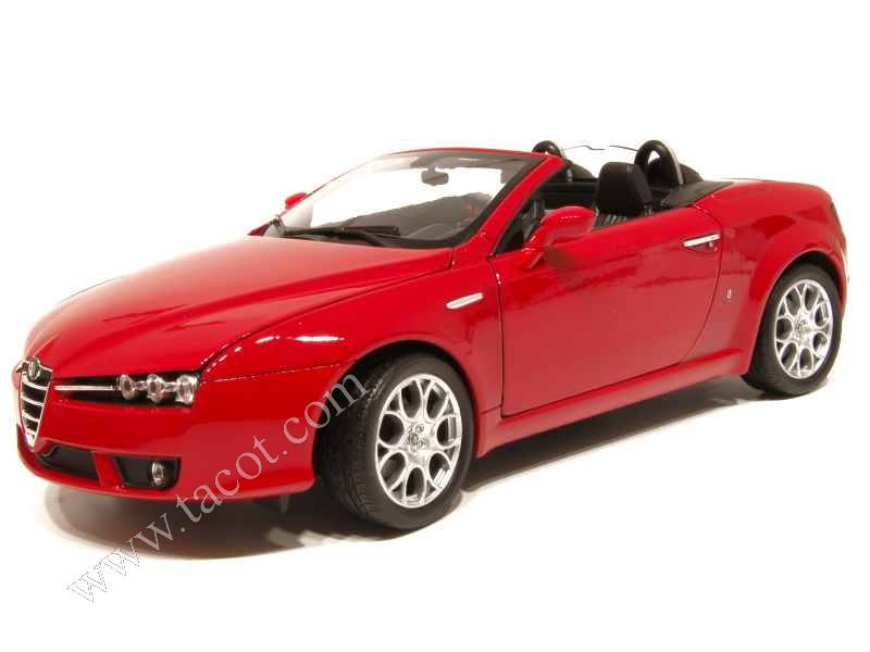 Alfa romeo spider 2007 welly 1 18 autos miniatures for Alfa salon de provence