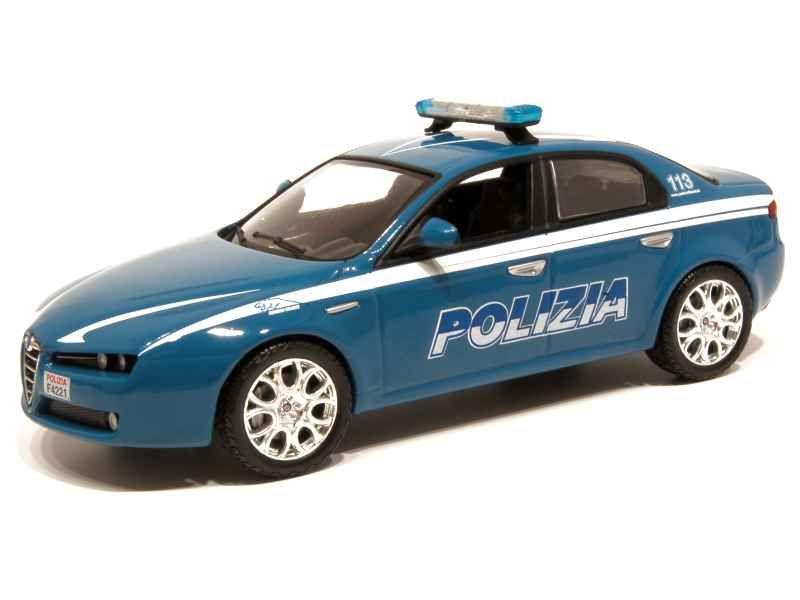 53004 Alfa Romeo 159 Q4 Police 2005