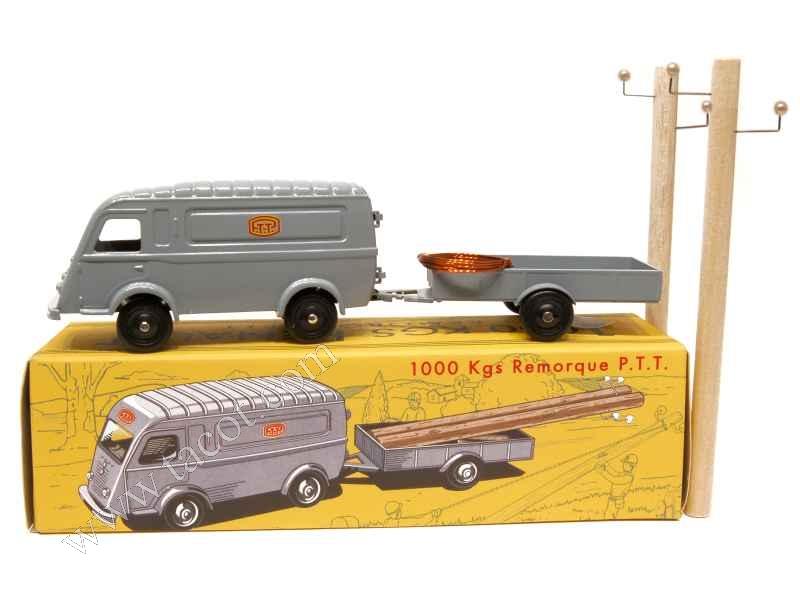 renault 1000 kg ptt cij europarc 1 43 autos miniatures tacot. Black Bedroom Furniture Sets. Home Design Ideas