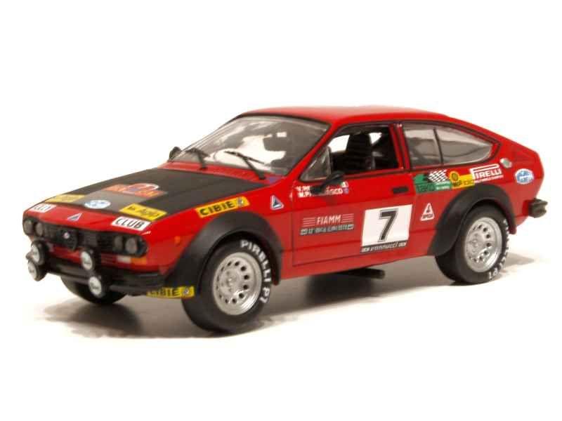 55930 Alfa Romeo Alfetta 2000 GTV Elba Rally 1979