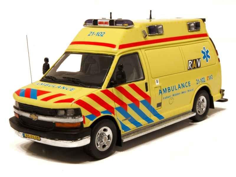59381 Chevrolet 610 RAV BR1 Ambulance