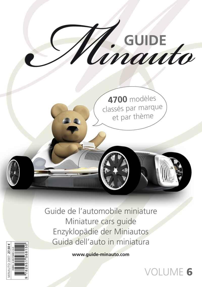 6 Divers Guide Autos Miniatures No6