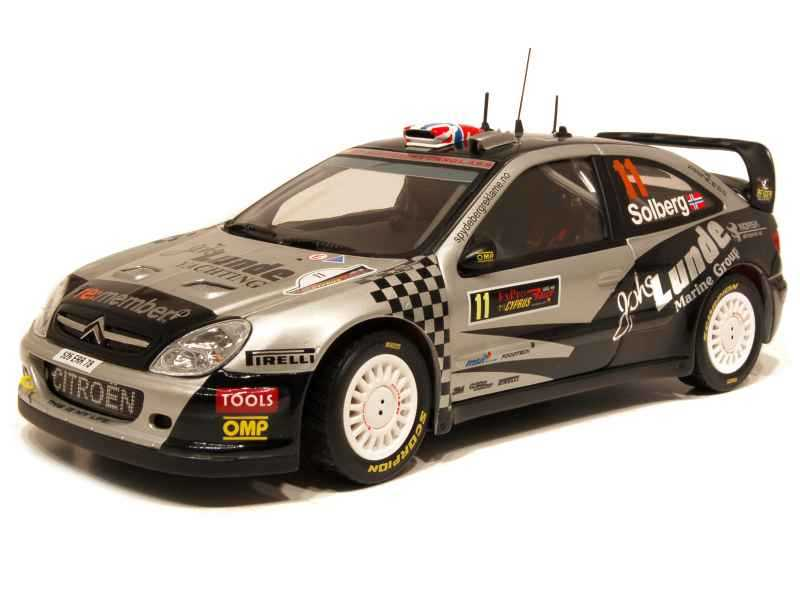 60792 Citroën Xsara WRC Rally Cyprus 2009