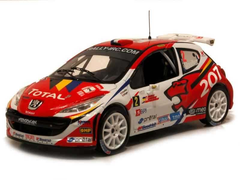 61841 Peugeot 207 S2000 Rally Madère 2008