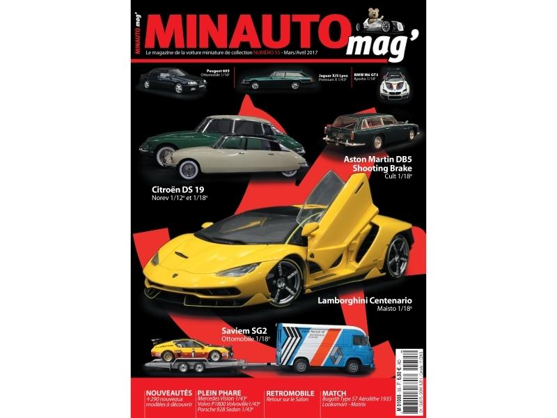 62 MINAUTO mag' No55 Mars/ Avril 2017