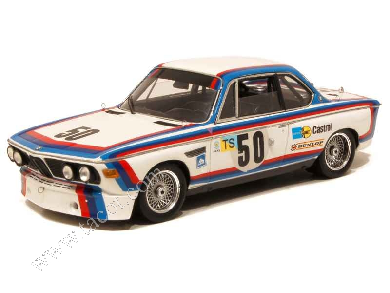 Bmw 3 0 Csl E09 Le Mans 1973 Spark Model 1 43 Autos Miniatures Tacot