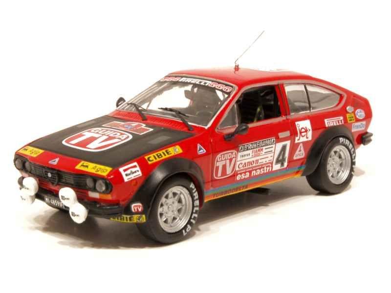 63221 Alfa Romeo Alfetta 2000 GTV Elba Rally 1980