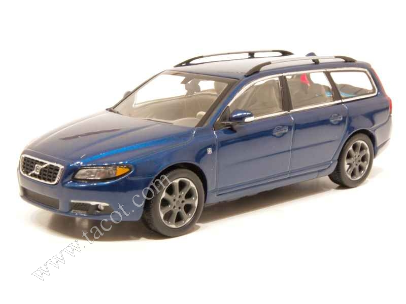 volvo v70 break ocean race 2008 motorart 1 43 autos miniatures tacot. Black Bedroom Furniture Sets. Home Design Ideas
