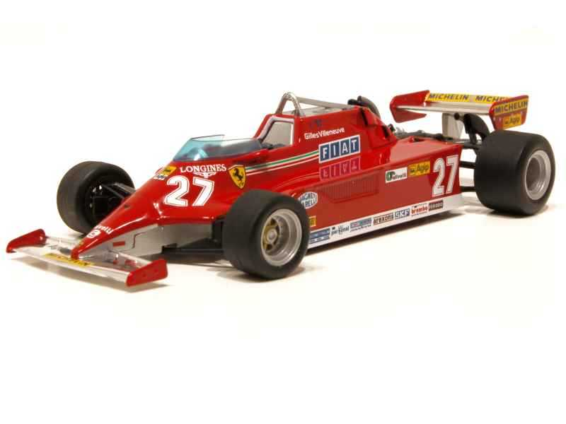 64906 Ferrari 126 CK Turbo Monaco GP 1981