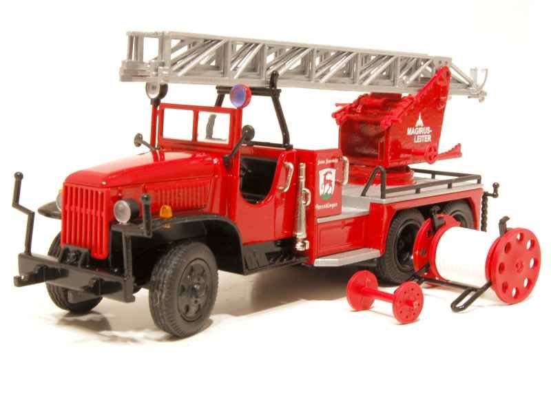 64943 GMC 6X6 Echelle Magirus Pompiers
