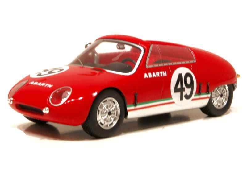 65263 Abarth 700 Spyder Le Mans 1961