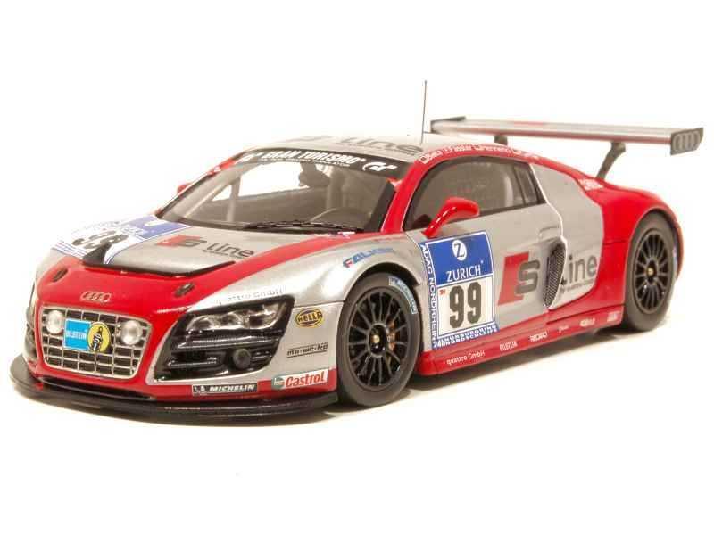 66147 Audi R8 Adac Nurburgring 2010