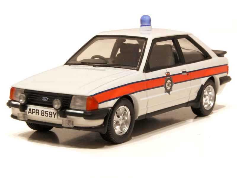 66767 Ford Escort MKIII XR3i Police