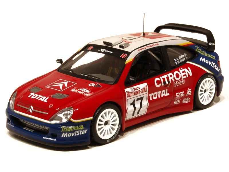 67240 Citroën Xsara WRC Monte Carlo 2003