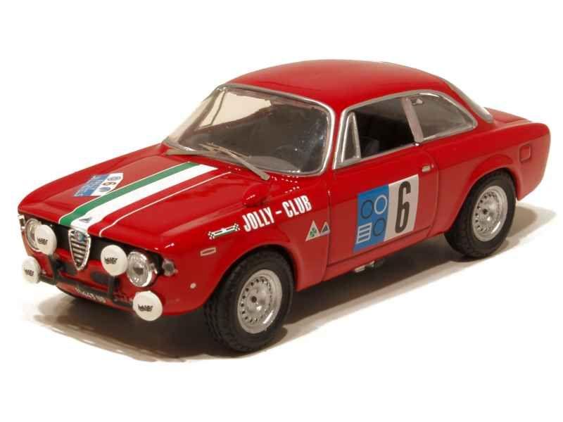 67720 Alfa Romeo 1600 GTA Pergusa 1965