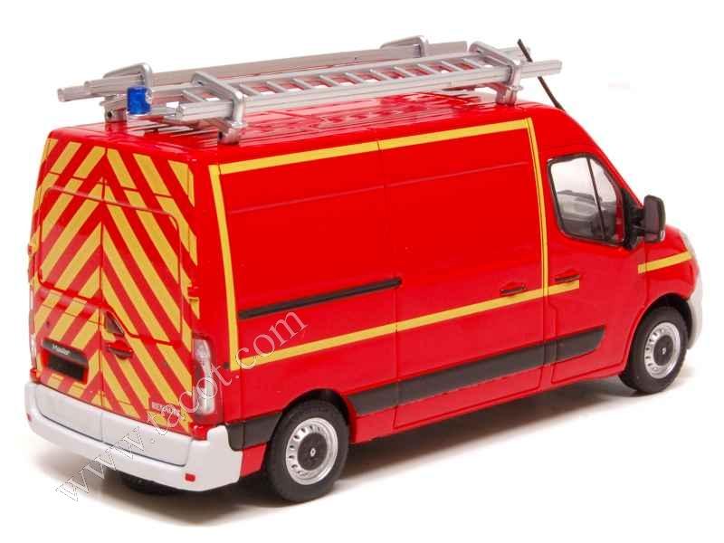 renault master iii vtu pompiers eligor camions 1 43 autos miniatures tacot. Black Bedroom Furniture Sets. Home Design Ideas