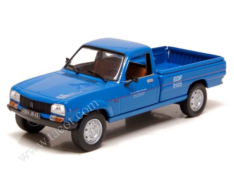 peugeot 504 pick up dangel 4x4 edf 1996 norev 1 43 autos miniatures tacot. Black Bedroom Furniture Sets. Home Design Ideas
