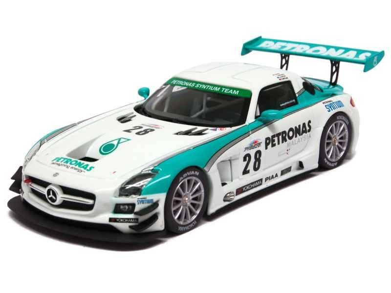 72194 Mercedes SLS AMG GT3/ C197 Merdeka 2011