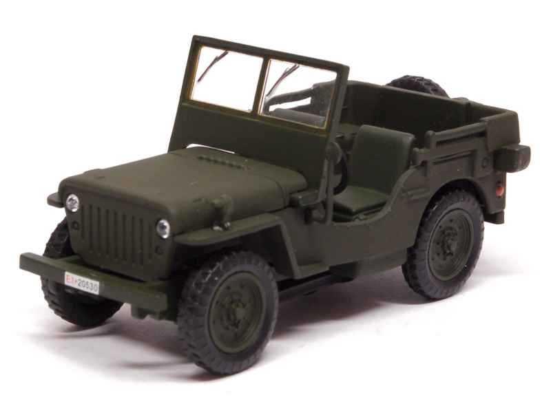 73962 Willys Jeep Carabinieri 1947