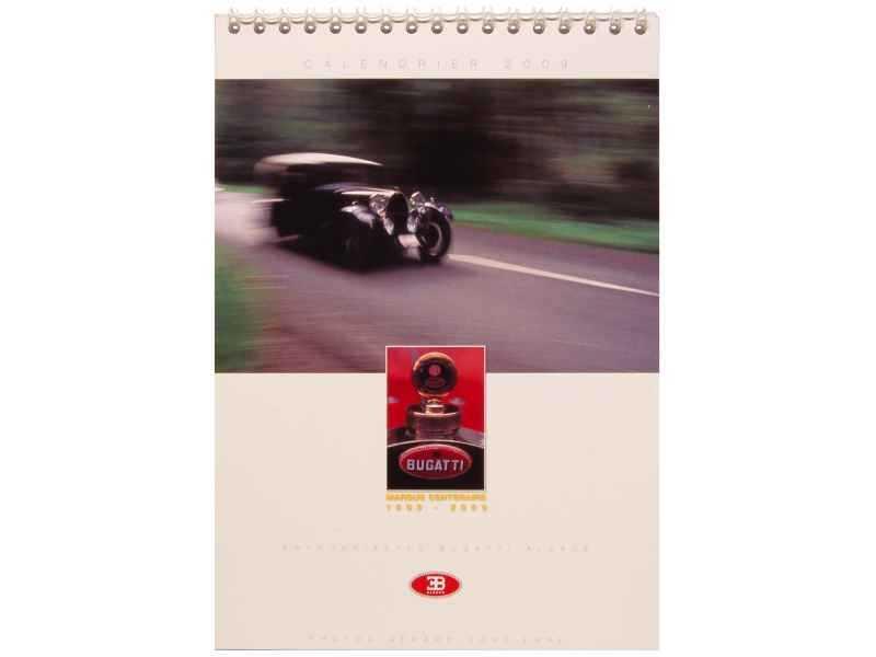 74049 Bugatti Calendrier 2009