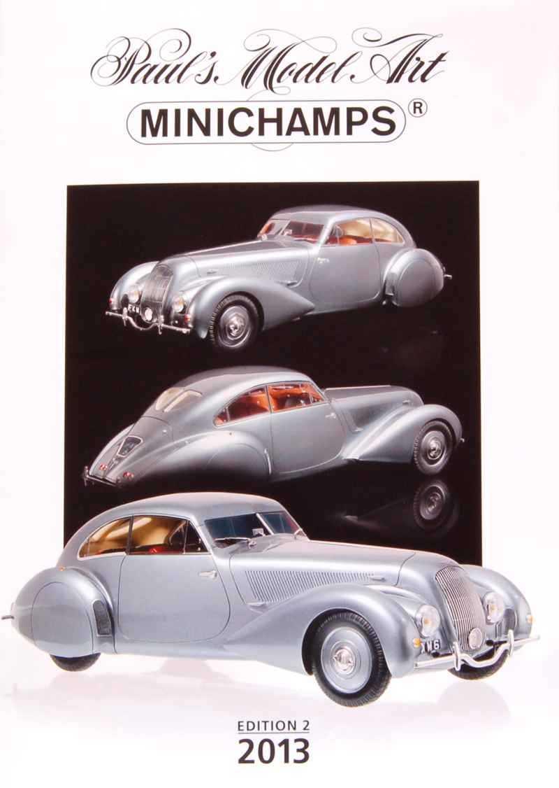 751 Catalogue Minichamps 2013