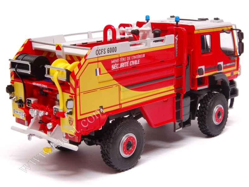 Renault - Kerax CCFS 6000 Sides Pompiers - Eligor Camions ...