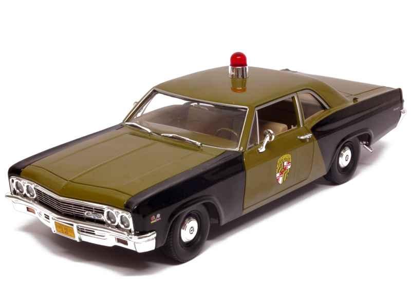 77991 Chevrolet Biscayne Police 1966
