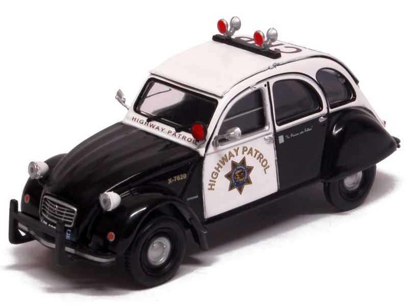 78250 Citroën 2CV Police US