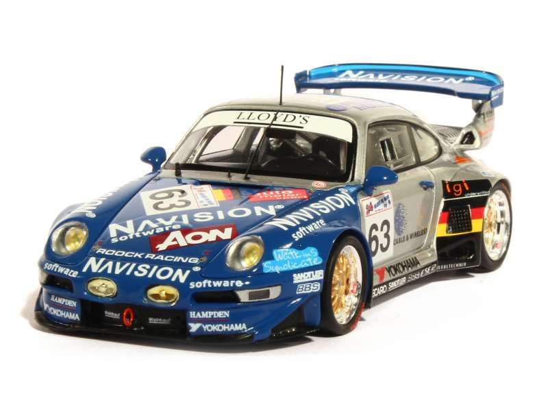 spark model porsche 911 993 gt2 le mans 1999 1 43 ebay. Black Bedroom Furniture Sets. Home Design Ideas