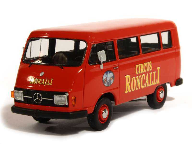 80910 Mercedes L 206 Bus Roncalli